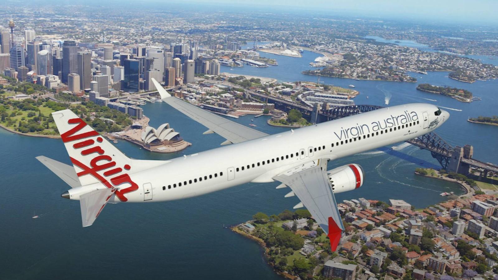 Virgin Australia Boeing 737 MAX 10 render