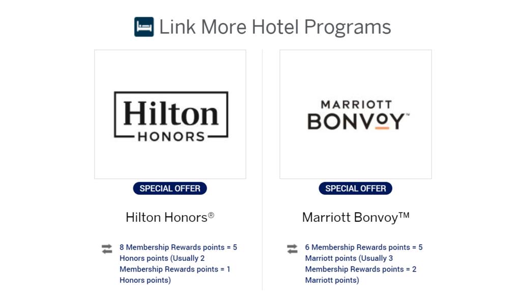 Membership Rewards Bonvoy bonus