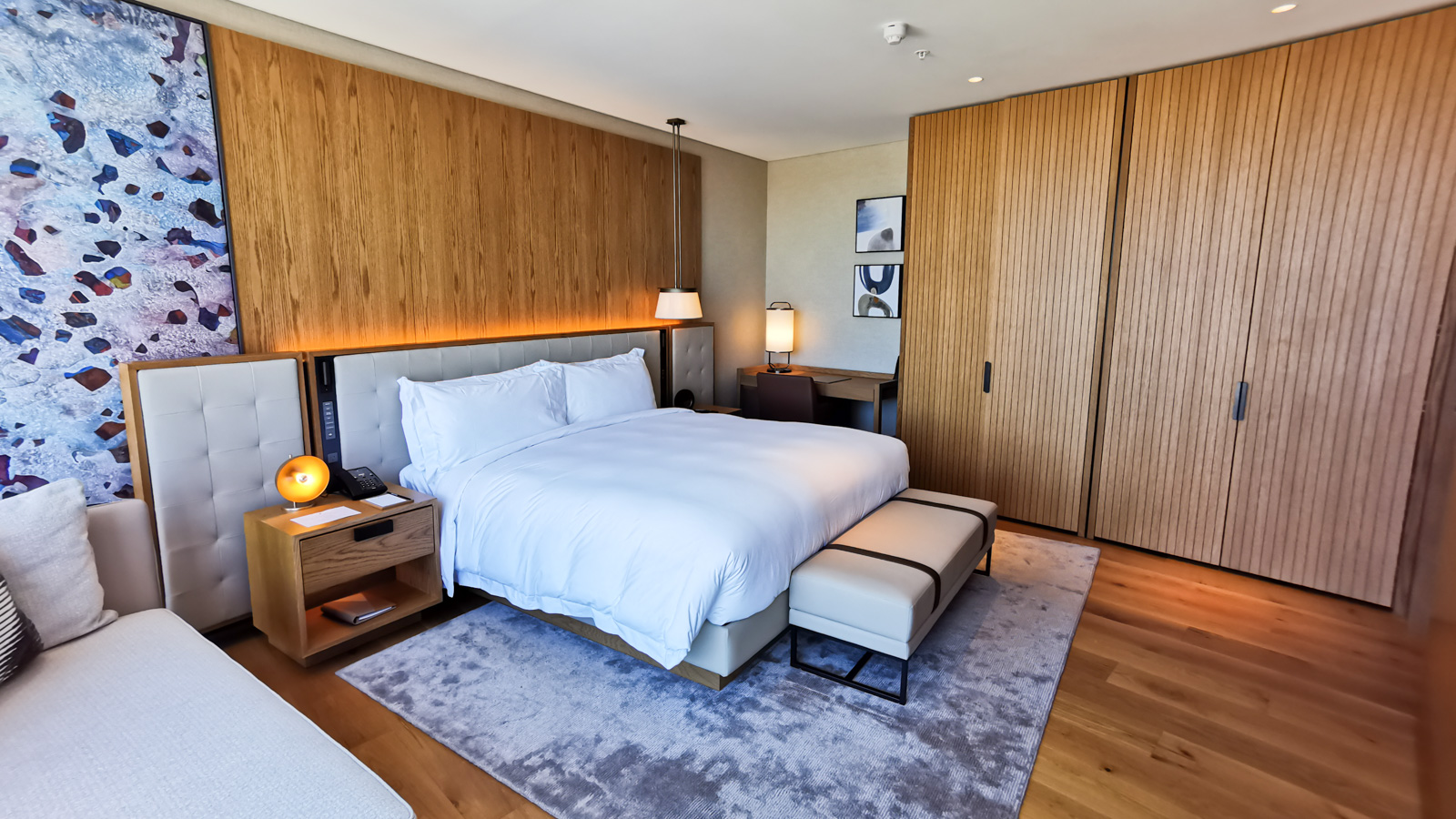 Ritz Carlton Perth Elizabeth Quay Suite Bedroom 4