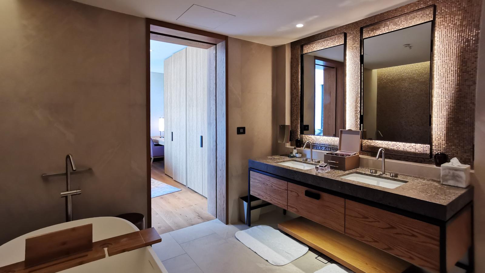 Ritz Carlton Perth Elizabeth Quay Suite Bathroom 1