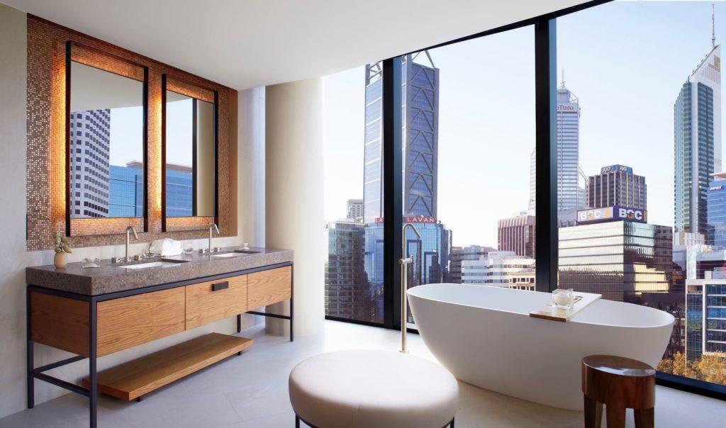Ritz Carlton Perth Studio Bathroom