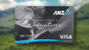 40,000 bonus Rewards Points and no overseas transaction fees on purchases with the ANZ Rewards Travel Adventures Card