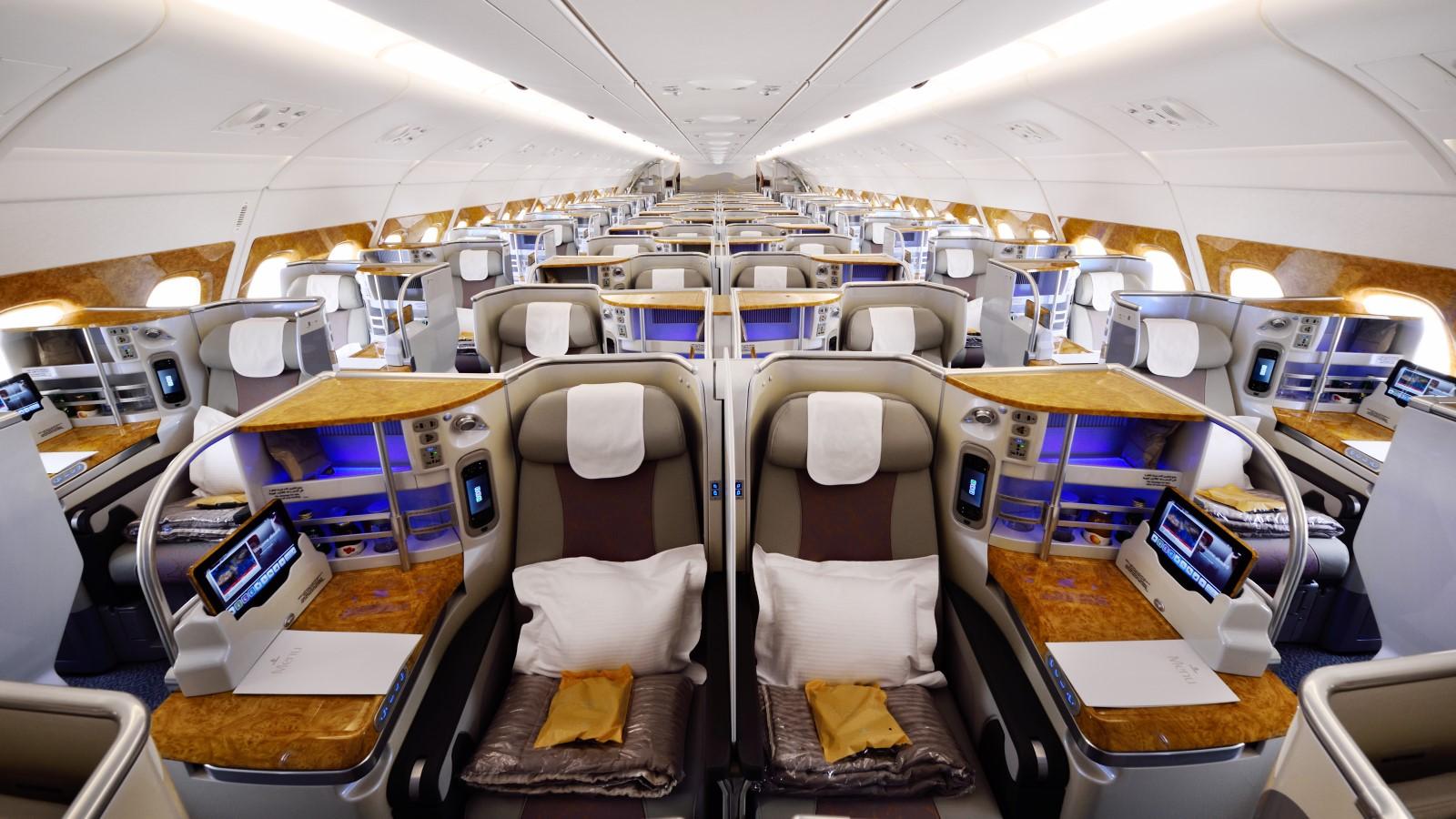 EK Old Business Class A380