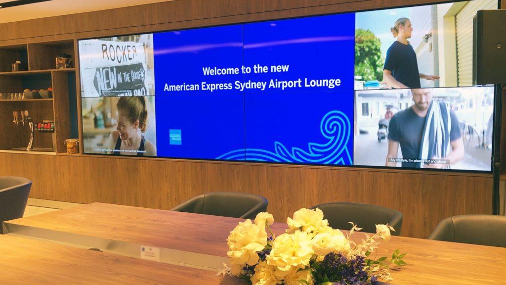 American Express Sydney lounge