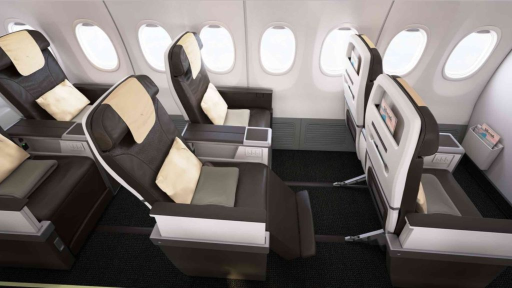 SilkAir 737-800NG Business Class
