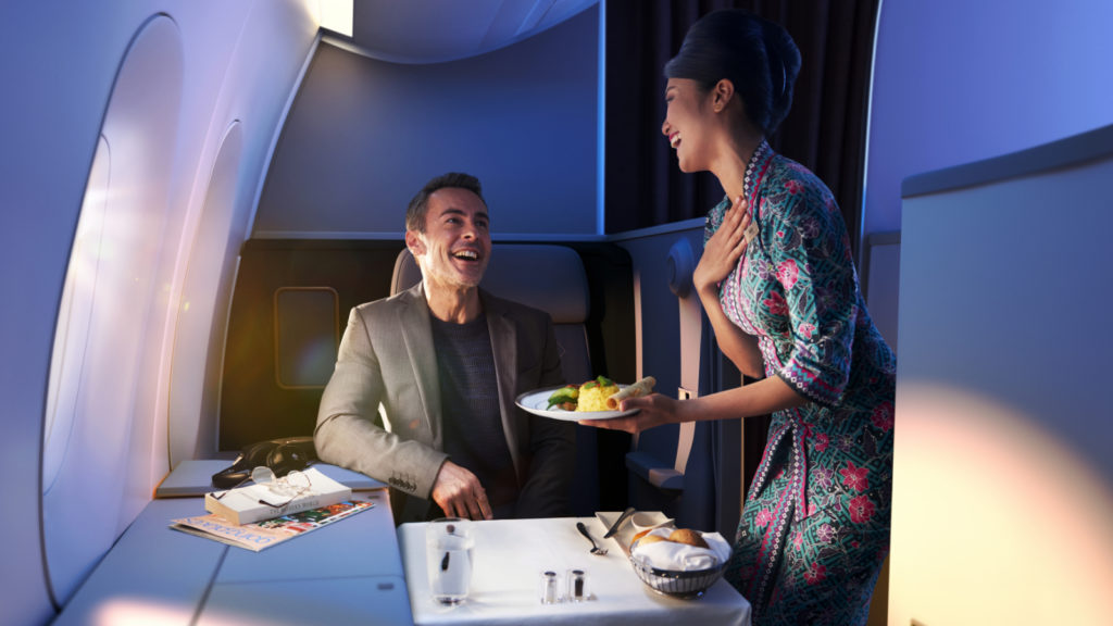 Malaysia Airlines Business Suites