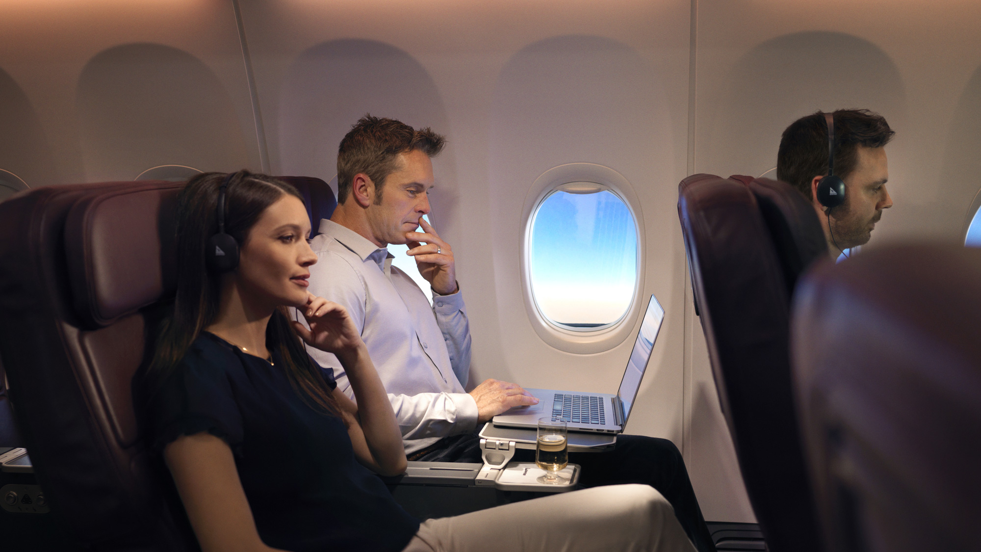 Qantas Boeing 737 Business