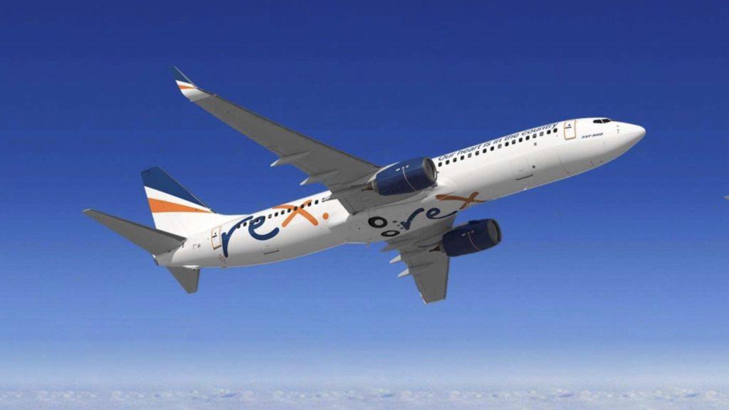 Rex Boeing 737 Livery
