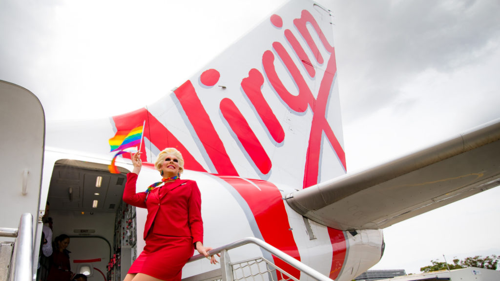 Virgin Australia Pride Flight