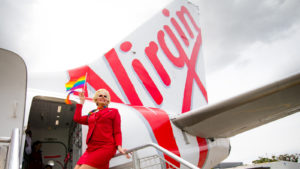 Virgin's first 'Pride Flight' set to take-off