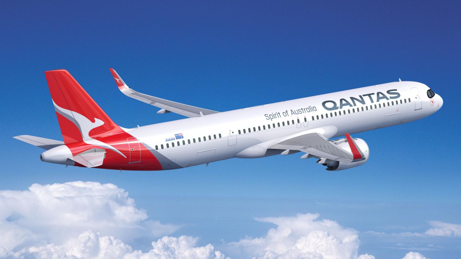 Qantas A321XLR