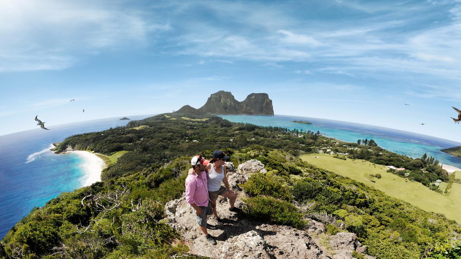 Lord Howe Island walking