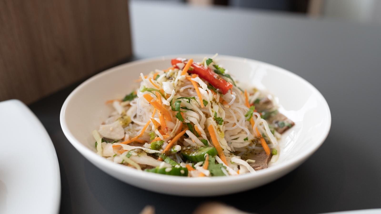 Virgin Lounge Thai Salad