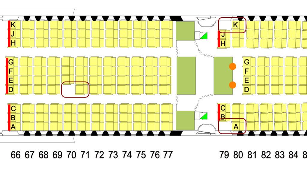 Qantas A380 Economy Extra Legroom