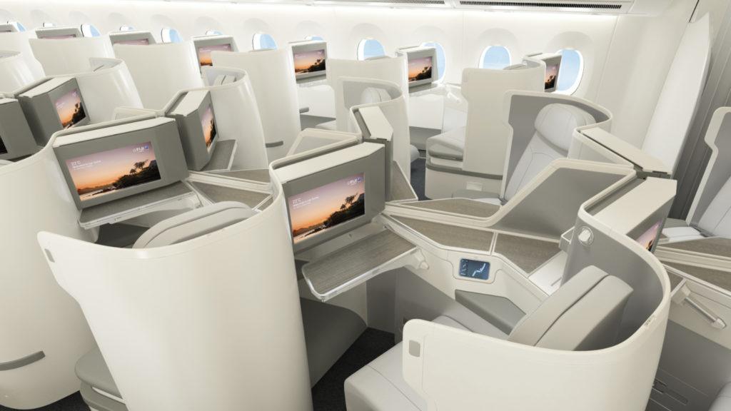 Fiji Airways A350 Interior Render