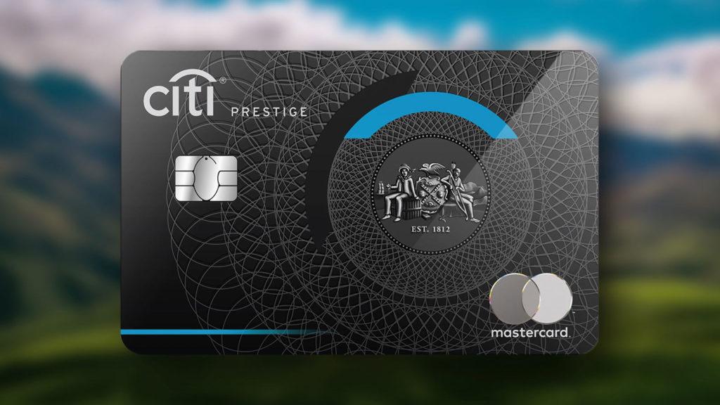 Citi Bank Prestige Mastercard