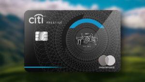 200,000 bonus Citi reward Points—equivalent to 100,000 Velocity Points—with the Citi Prestige Card