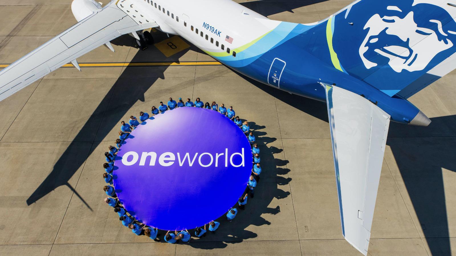 Alaska Airlines oneworld launch