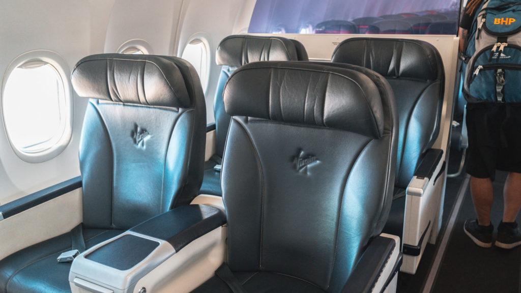 Virgin Australia 737 Business Class