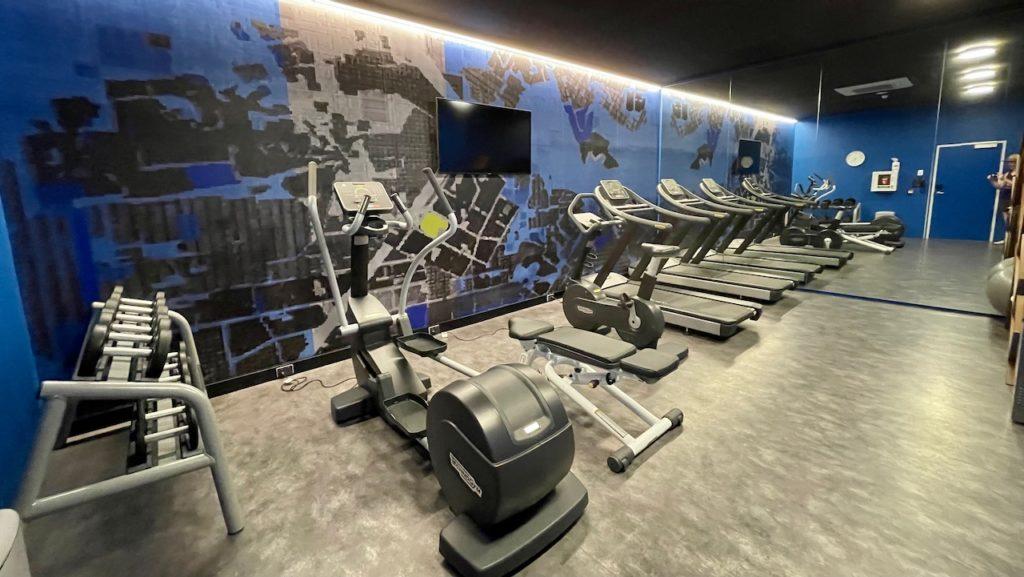 Holiday Inn Express Newcastle gym