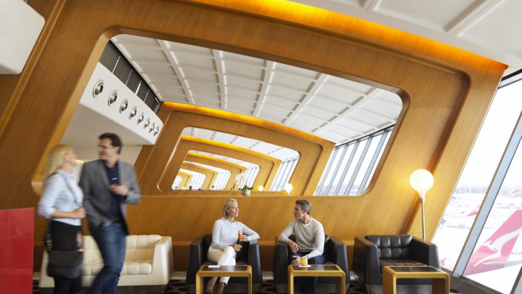 Qantas International First Sydney Seating