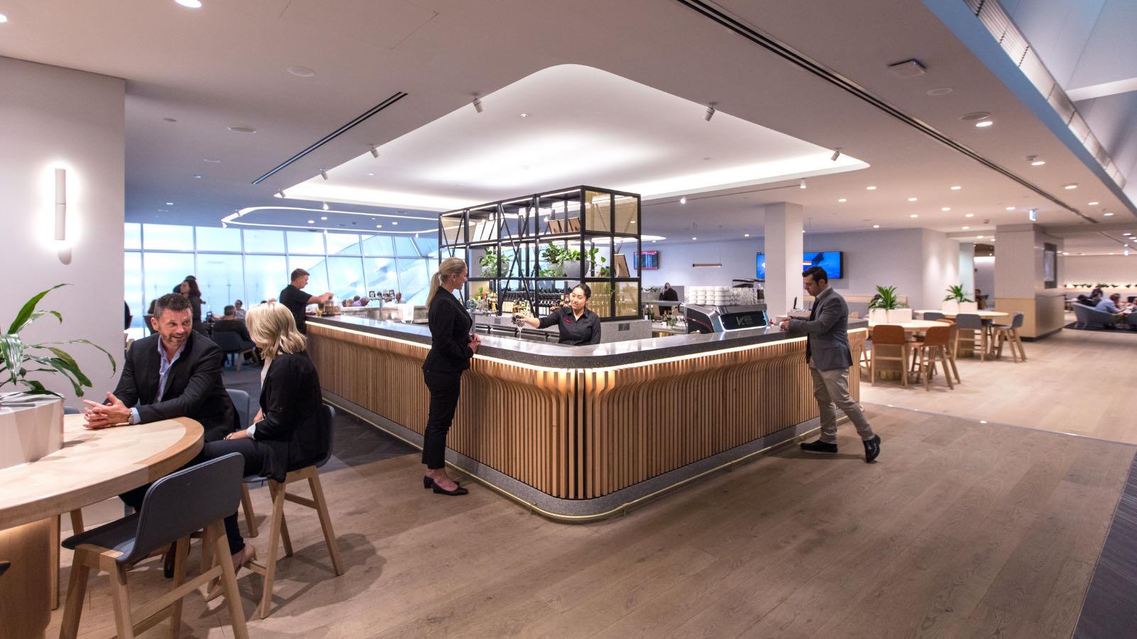 Qantas Club Lounge Melbourne