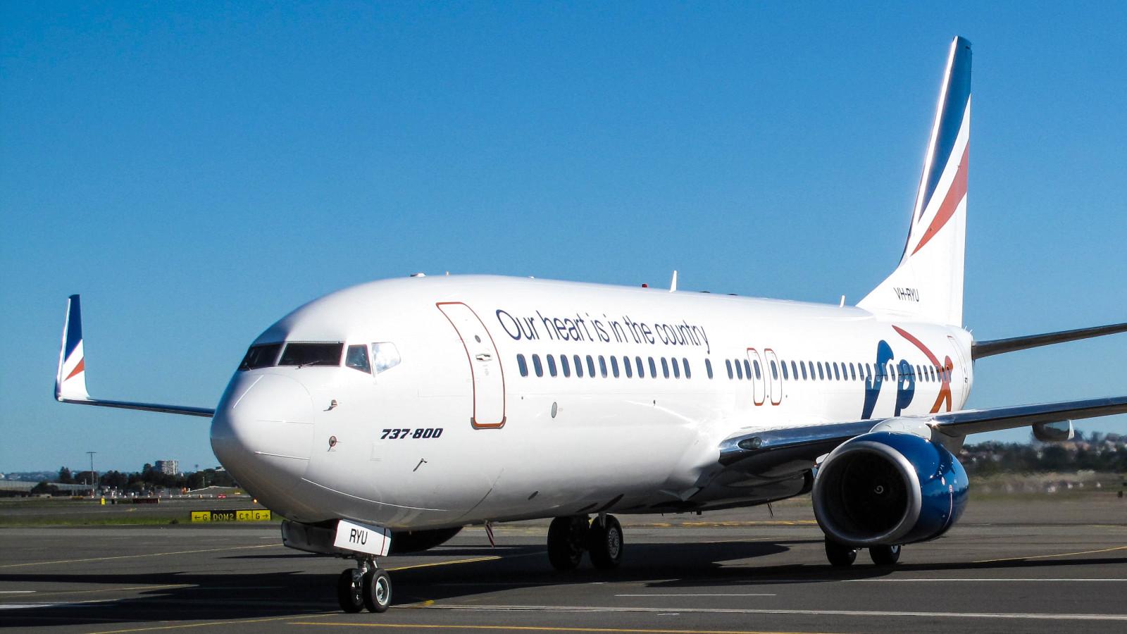 Rex Boeing 737 Airport