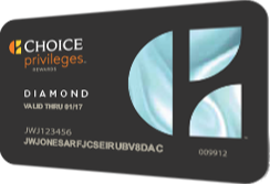 Choice Privileges Diamond Card