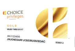 Choice Privileges Gold Card