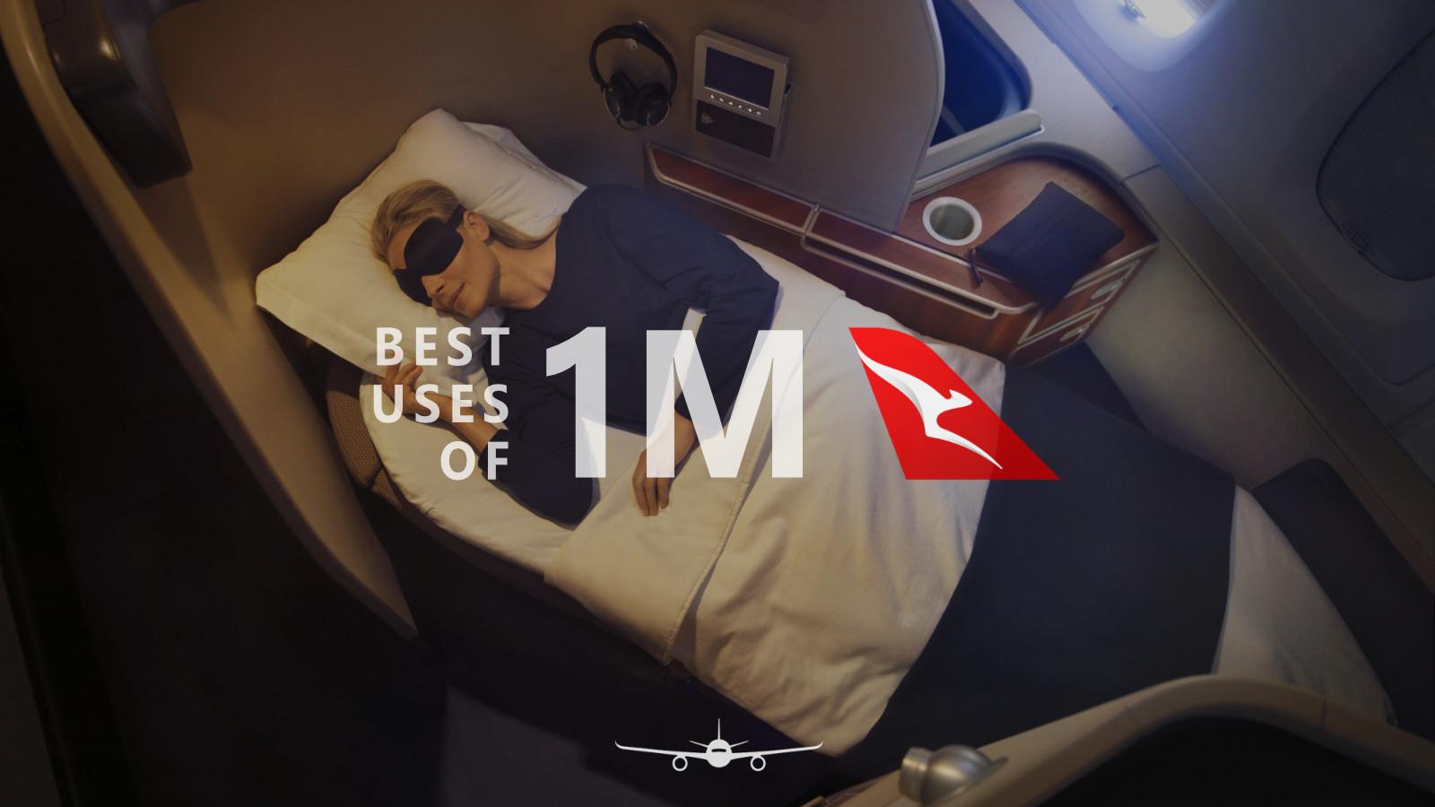 Best uses of 1 million Qantas Points