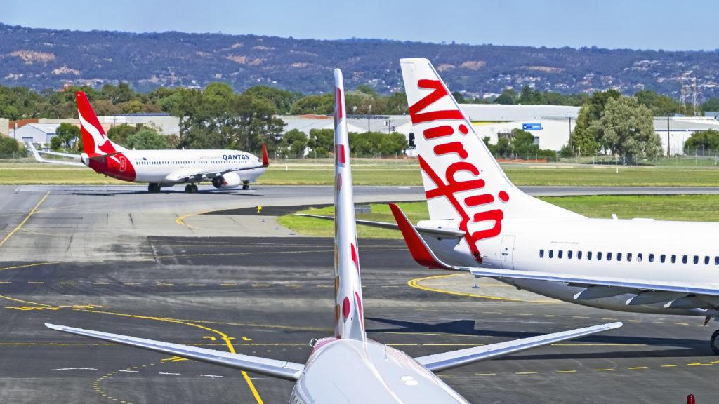 Qantas and Virgin Tails