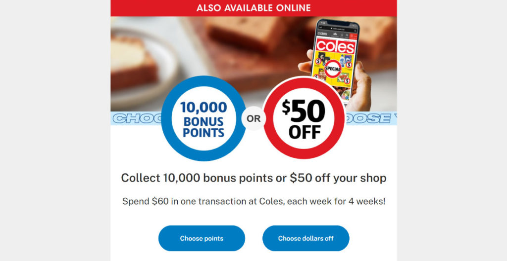 flybuys 10,000 points offer