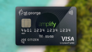 Up to 200,000 Amplify Rewards points with the St.George Amplify Signature Visa