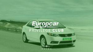 Guide to the Europcar Privilege Club program