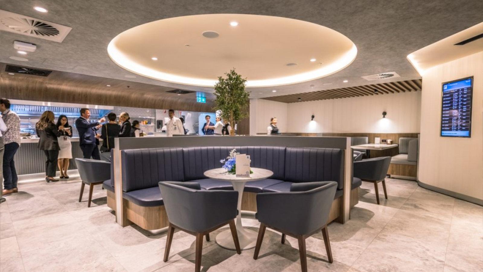 American Express Sydney Lounge 5