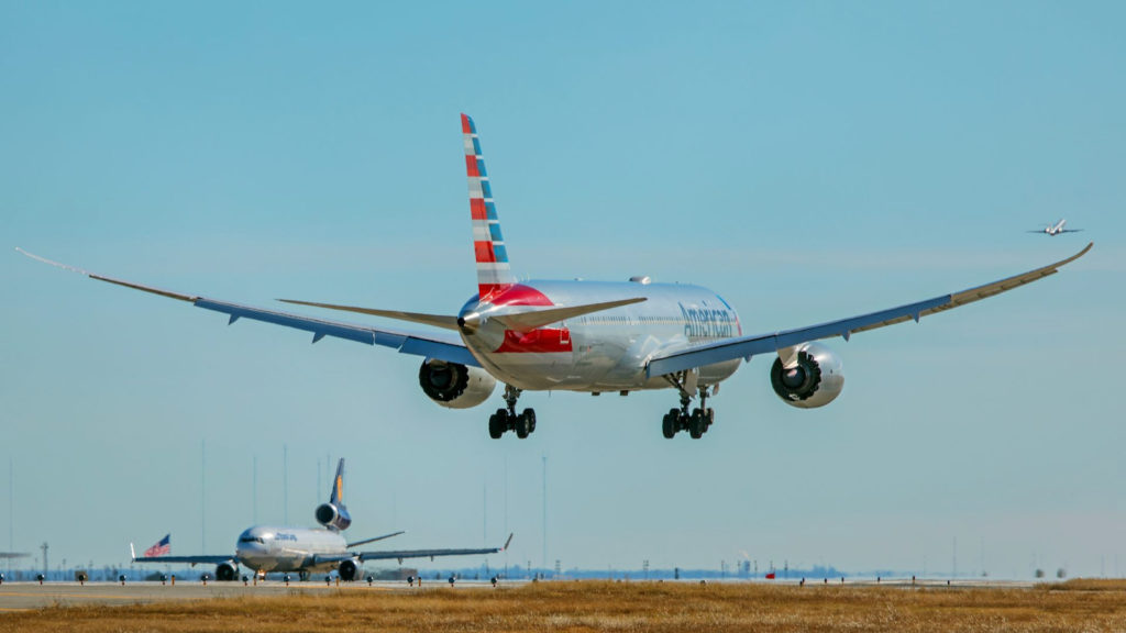 American Airlines A789