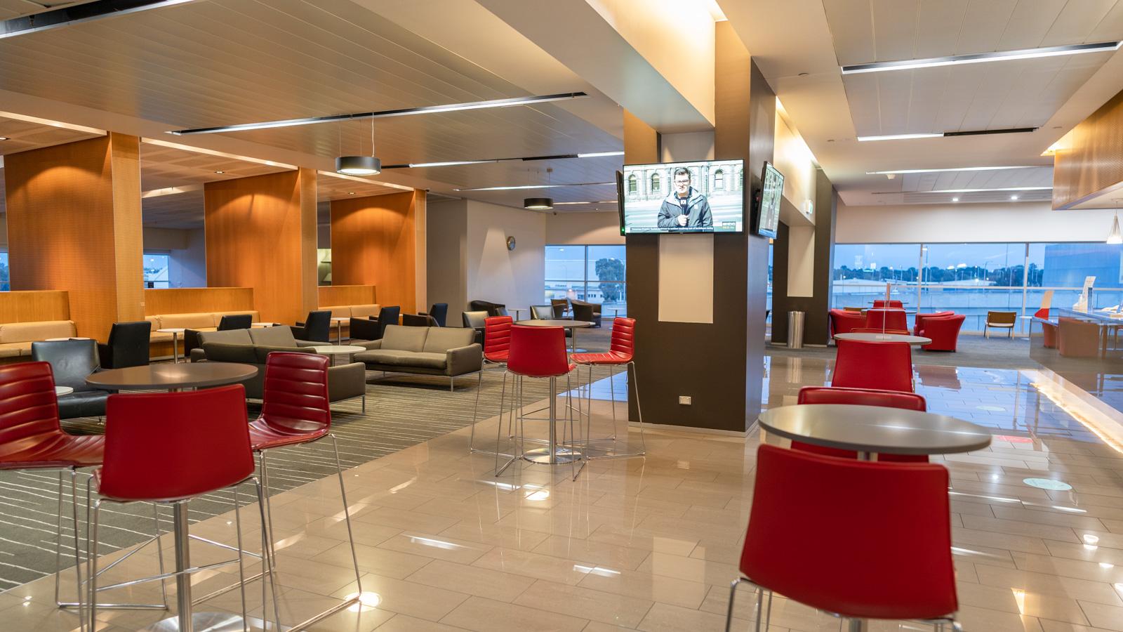 Qantas Club Adelaide dining