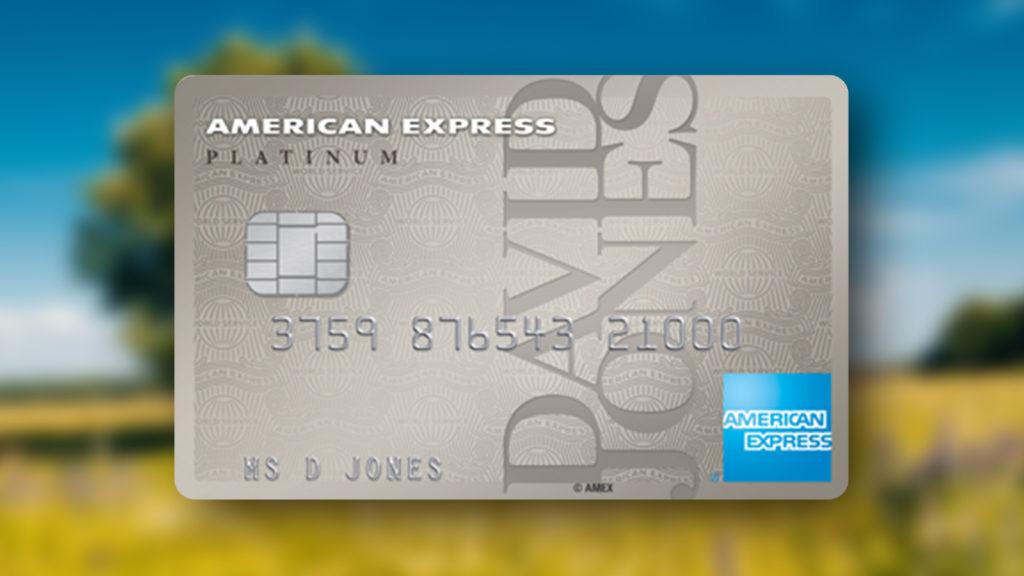 David Jones American Express_Plat