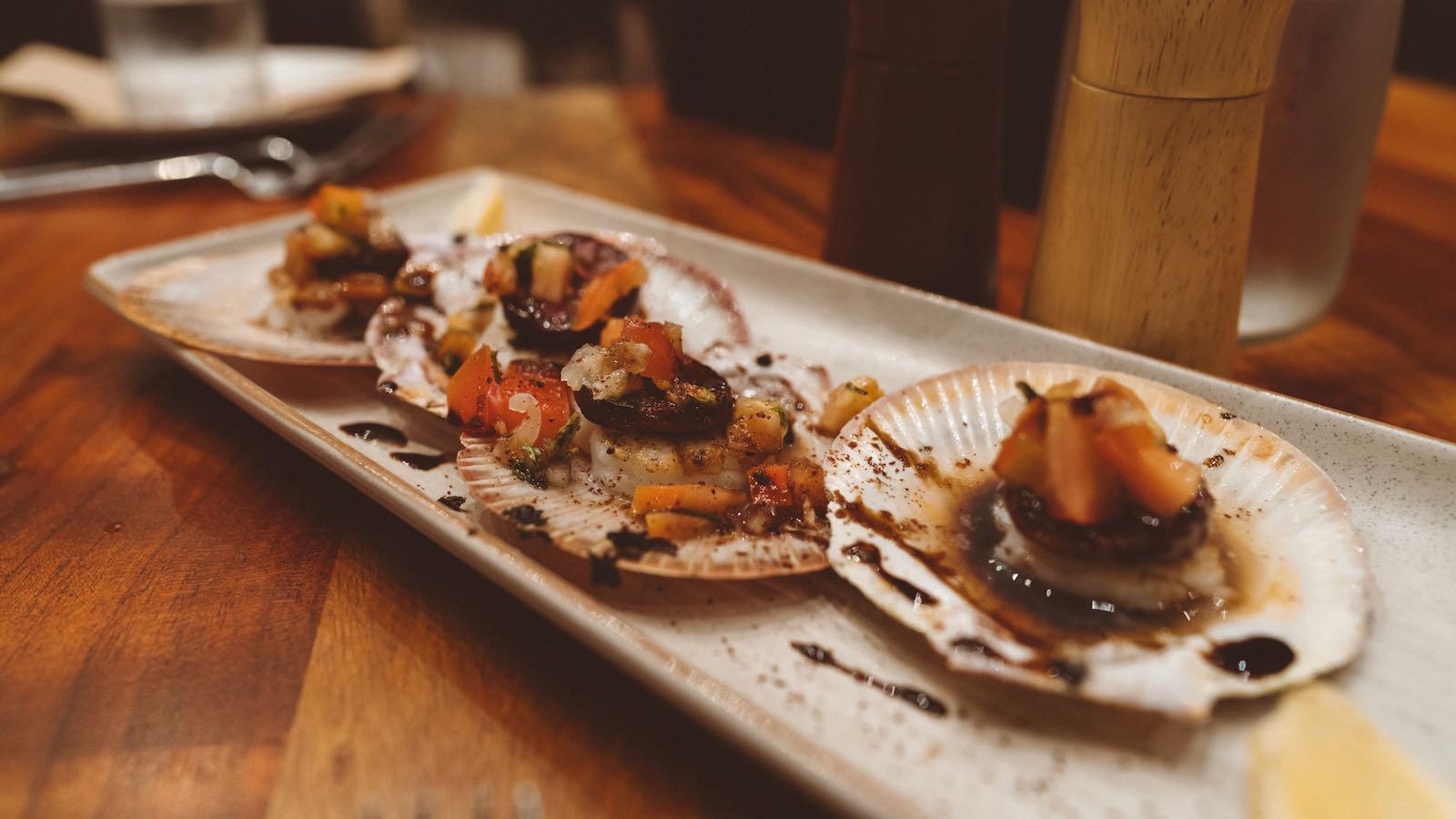 Scallops at Whalers