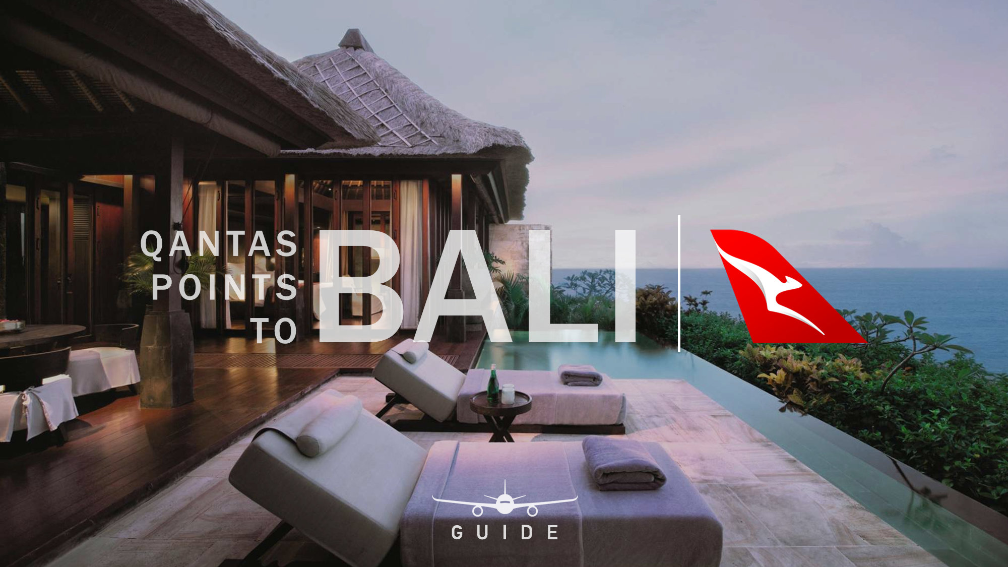 Learn how to use Qantas Points to fly to Bali.