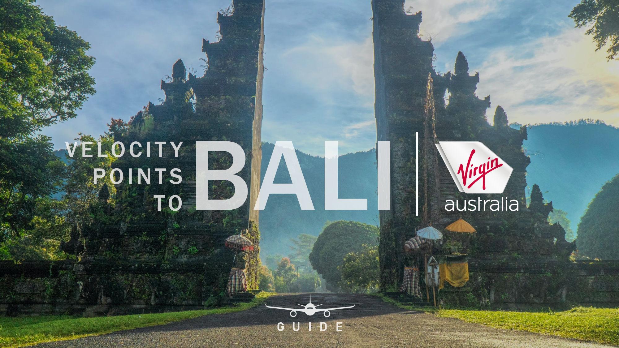 Velocity Points to Bali