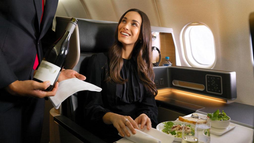 Qantas Reward Seat