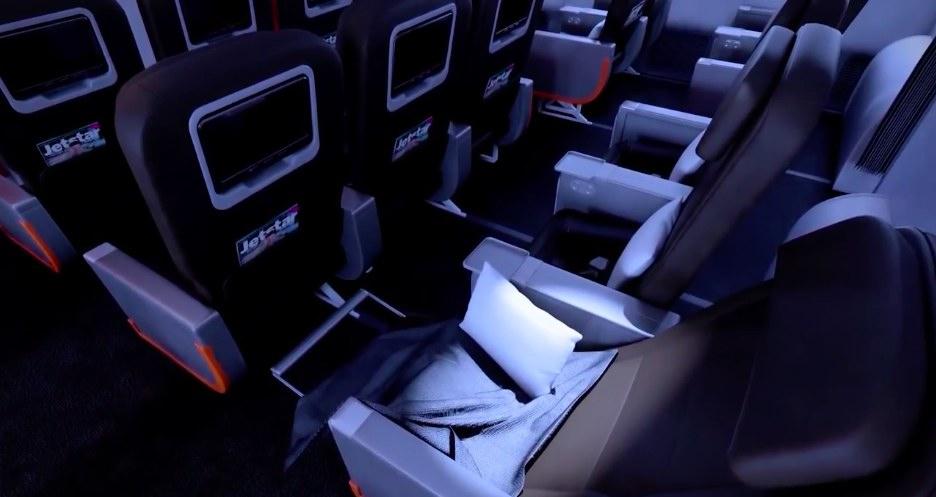 Jetstar MEL-AKL 787 - Starclass 1