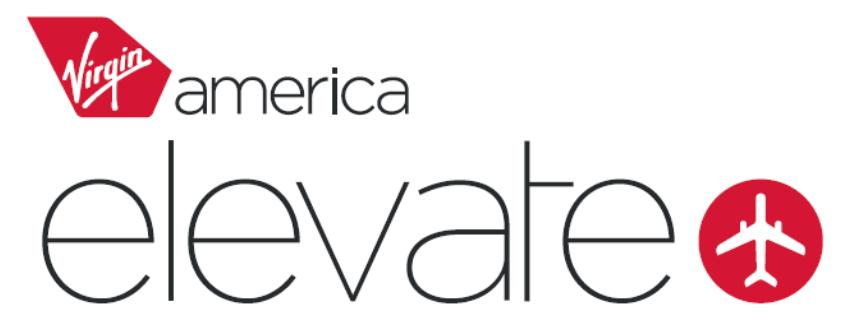 Virgin American Elevate logo