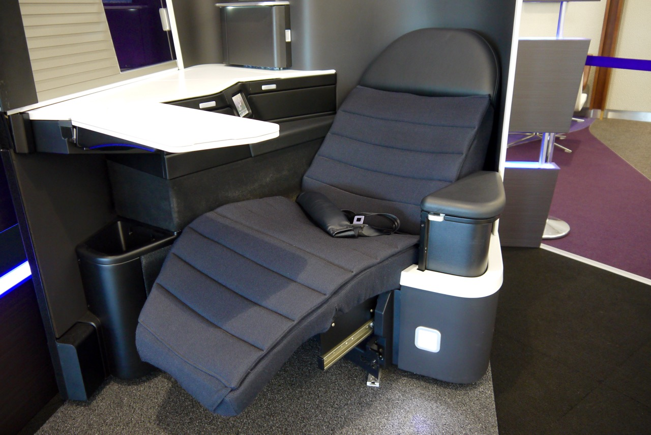 Virgin Australia new 2015 Business Class A330-777 Seat (6)