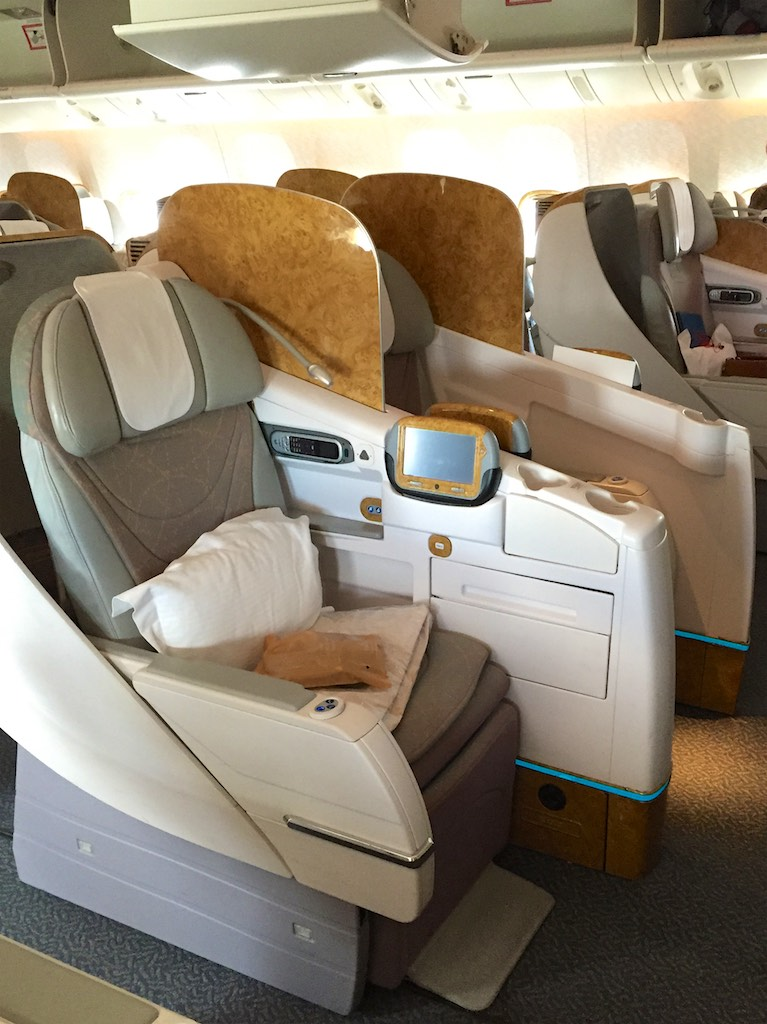 EK419 Emirates Business Class Christchurch to Sydney 5 | Point Hacks