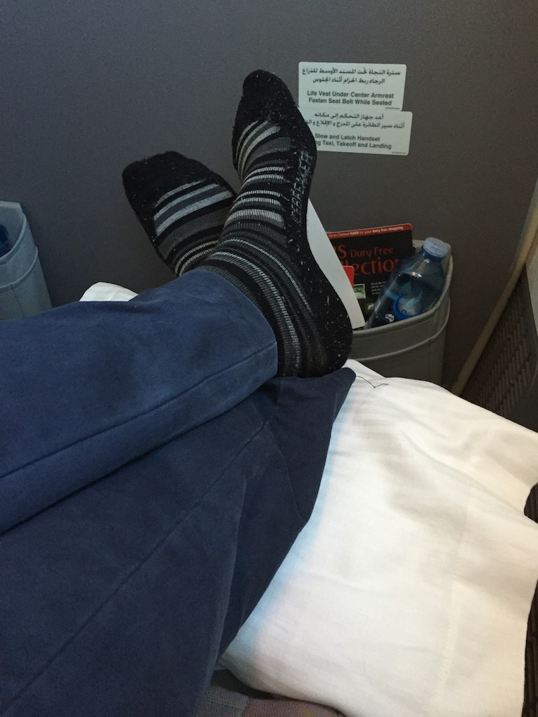 EK419 Emirates Business Class Christchurch to Sydney 14 | Point Hacks