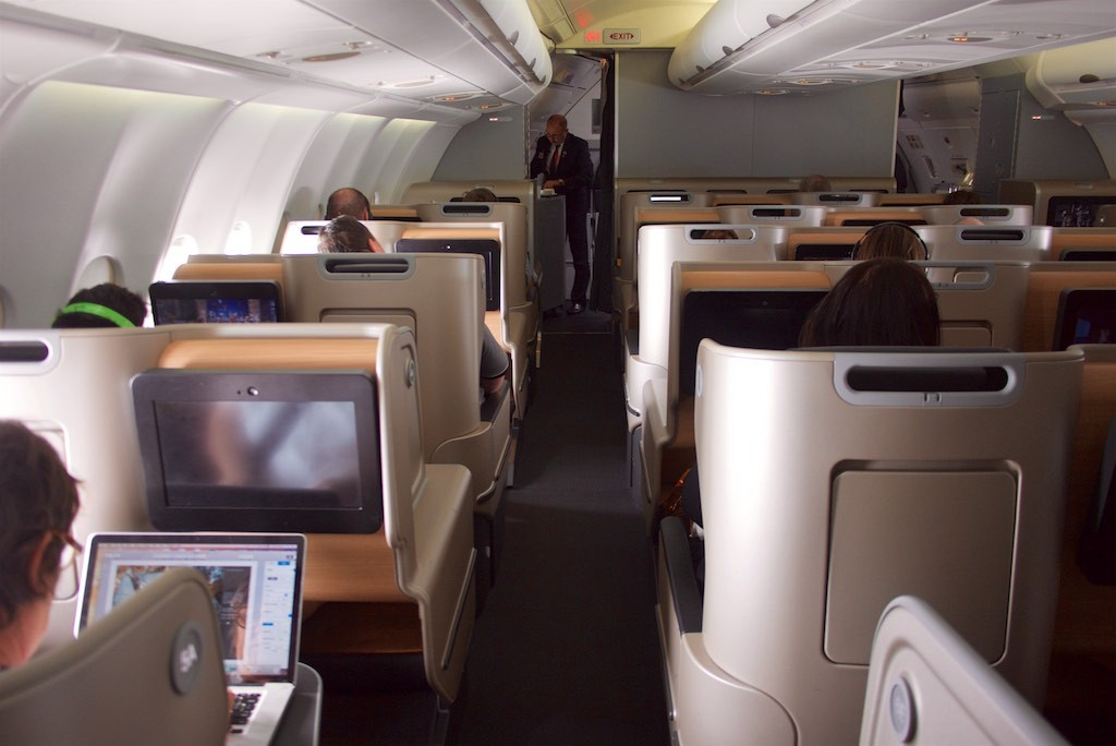 Qantas new A330 Domestic Business Class
