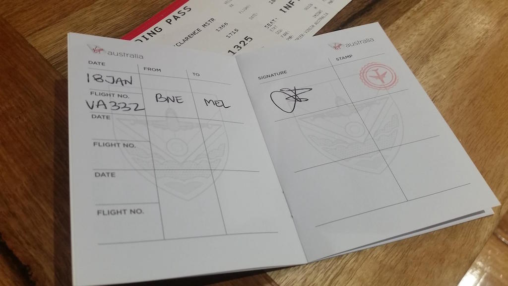 Virgin Australia's High Flyer Passport