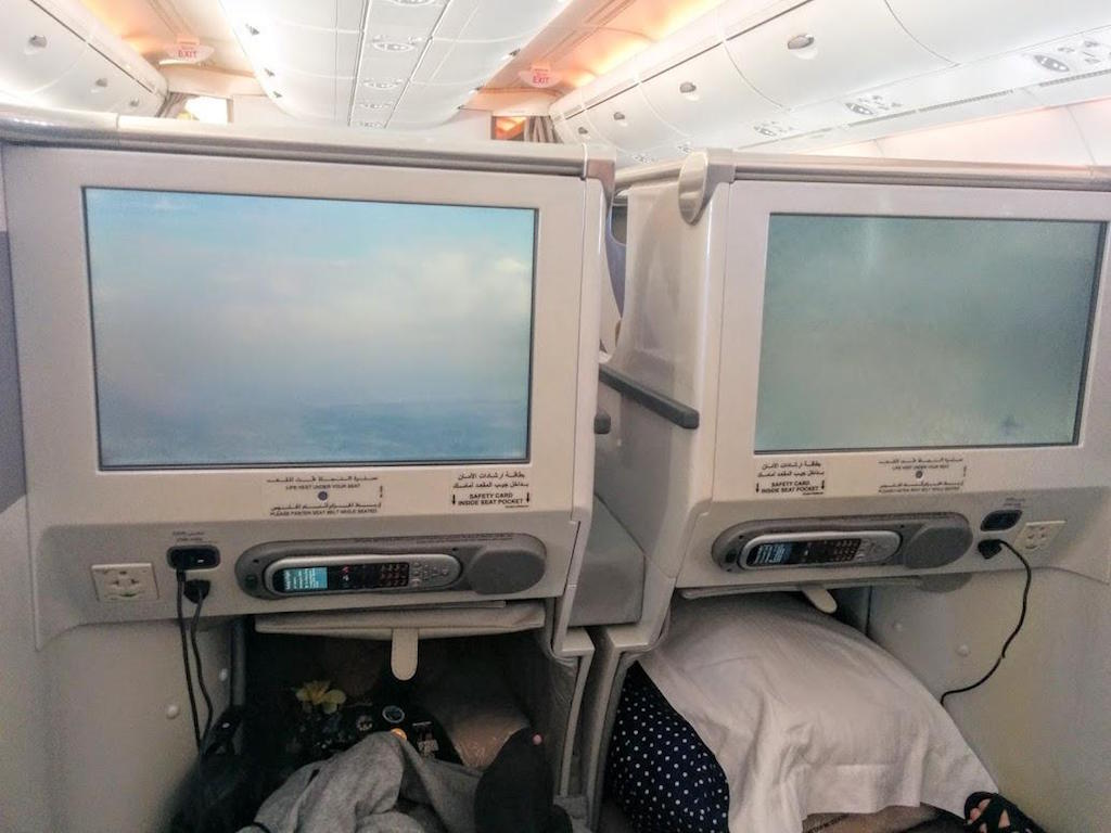 Emirates A380 Business Class Review - EK406 Melbourne Auckland